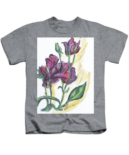 Kimberly's Spring Flower Kids T-Shirt