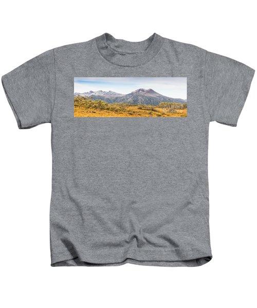 King William Range. Australia Mountain Panorama Kids T-Shirt