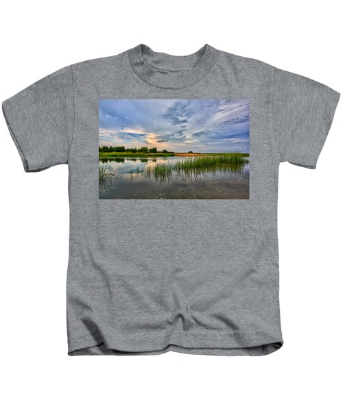 Kings Park Bluffs Kids T-Shirt