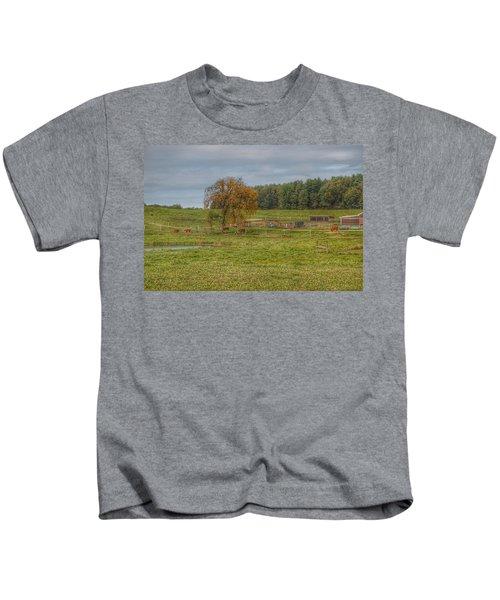 1002 - Kingston Road Cows Kids T-Shirt