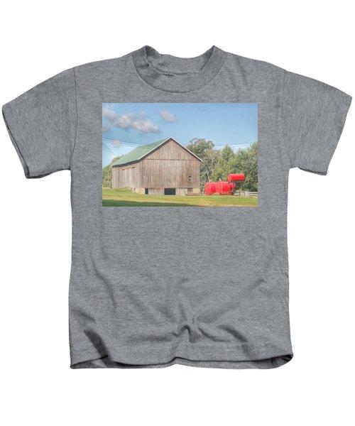 0021 - Kingston Road Grey I Kids T-Shirt