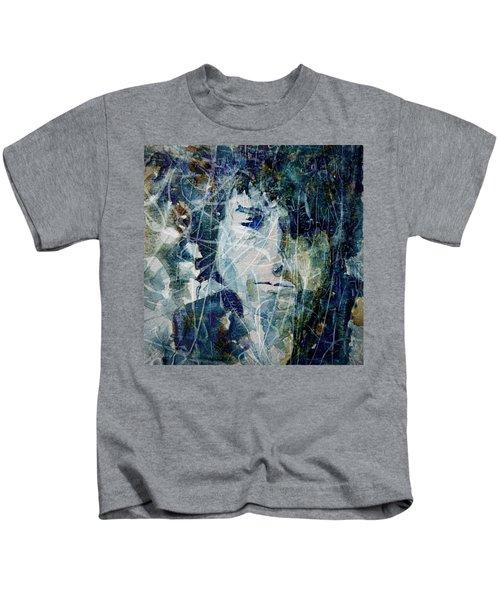 Knocking On Heaven's Door Kids T-Shirt by Paul Lovering