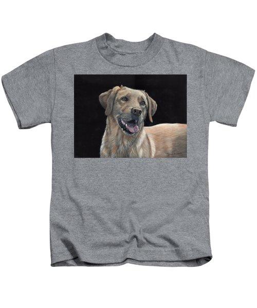 Labrador Portrait Kids T-Shirt