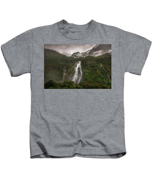 Lady Bowen Falls Kids T-Shirt
