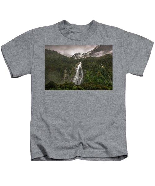 Lady Bowen Falls Kids T-Shirt
