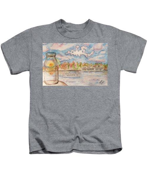 Lake Hopatcong Kids T-Shirt
