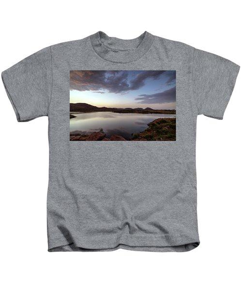 Lake In The Wichita Mountains  Kids T-Shirt