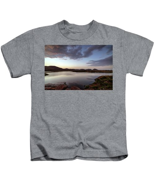 Lake In The Wichita Mountains  Kids T-Shirt