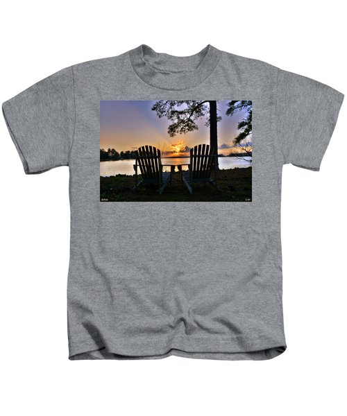 Lake Murray Relaxation Kids T-Shirt