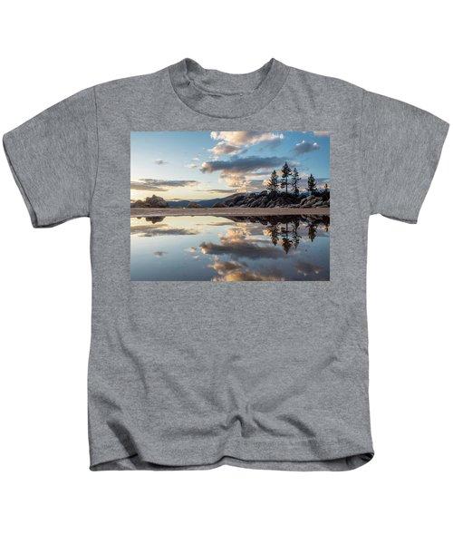 Lake Tahoe Mirror Kids T-Shirt