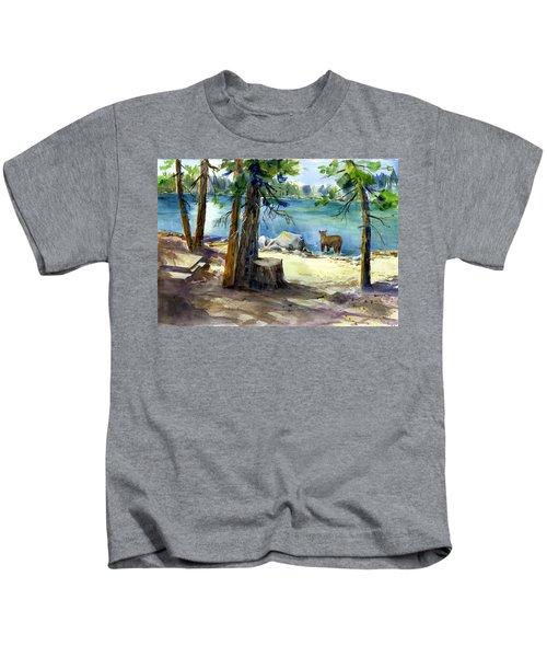 Lake Valley Bear Kids T-Shirt