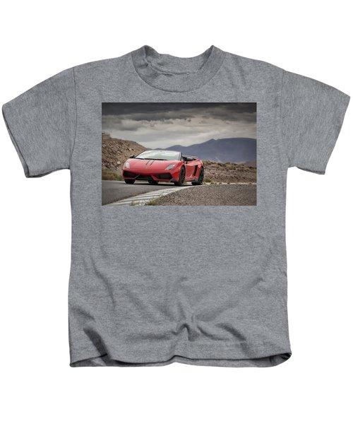 Lamborghini Gallardo Lp570-4 Spyder Performante Kids T-Shirt