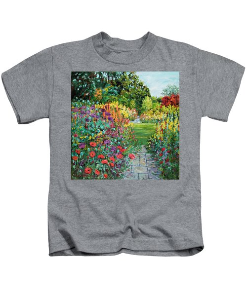 Landscape With Poppies Kids T-Shirt