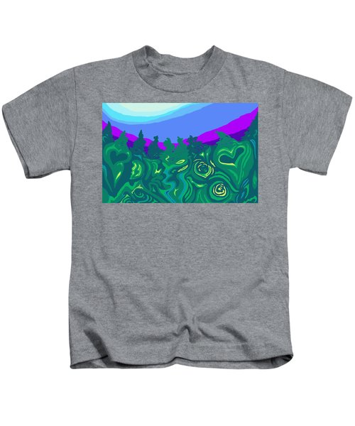 Language Of Forest Kids T-Shirt