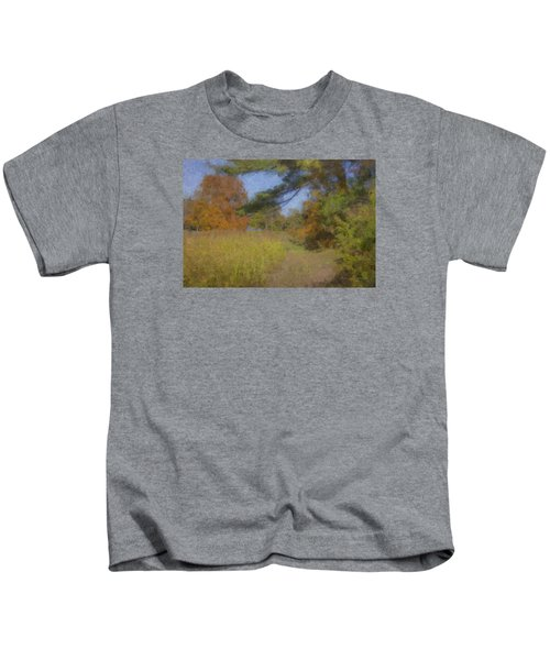 Langwater Farm Tractor Path Kids T-Shirt