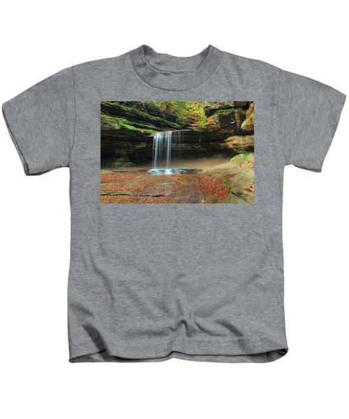 Lasalle Canyon Waterfall 3 Kids T-Shirt