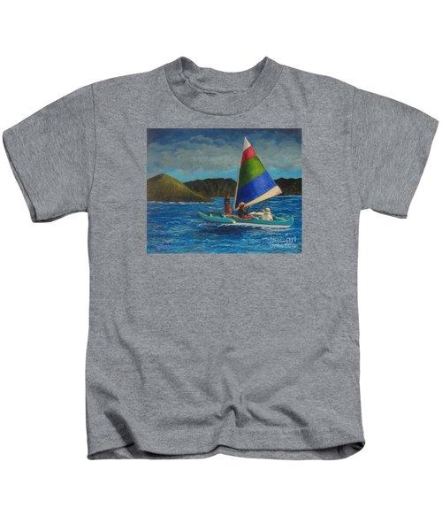 Last Sail Before The Storm Kids T-Shirt