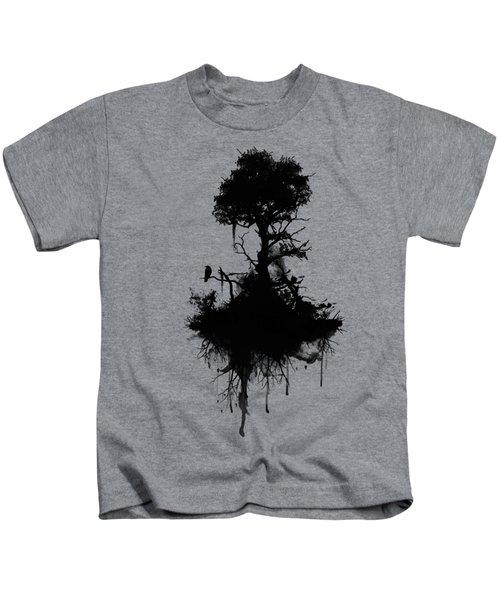 Last Tree Standing Kids T-Shirt by Nicklas Gustafsson