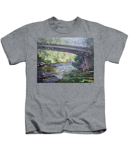 Late Afternoon At Mcnab Park Kids T-Shirt