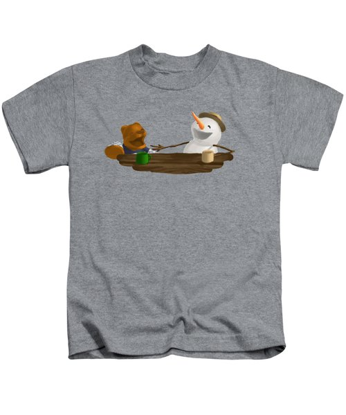 Laughter Kids T-Shirt by Jason Sharpe