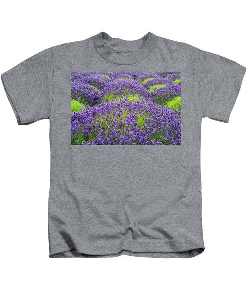Lavender In Blooming Kids T-Shirt