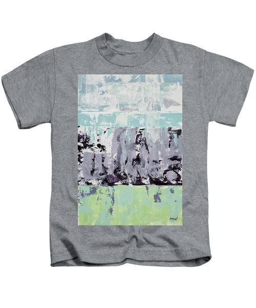 Lavender Landscape Kids T-Shirt