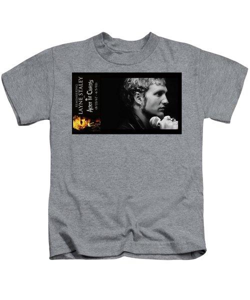 Layne Staley Kids T-Shirt