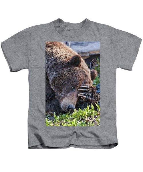 Lazy Bear Kids T-Shirt