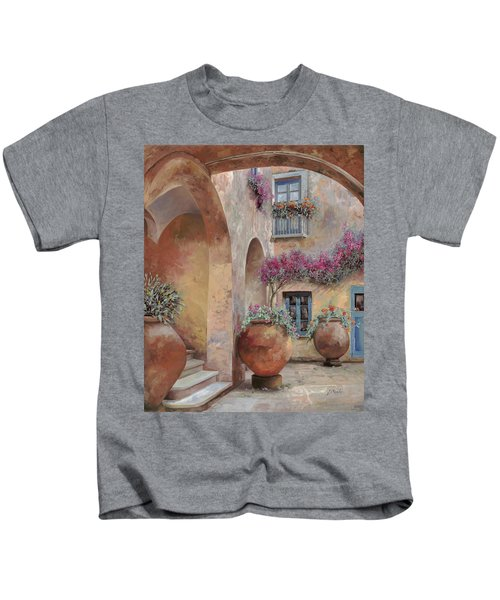 Le Arcate In Cortile Kids T-Shirt