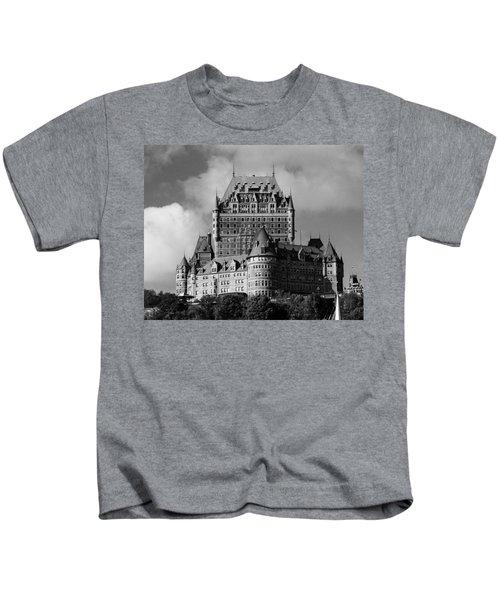 Le Chateau Frontenac - Quebec City Kids T-Shirt