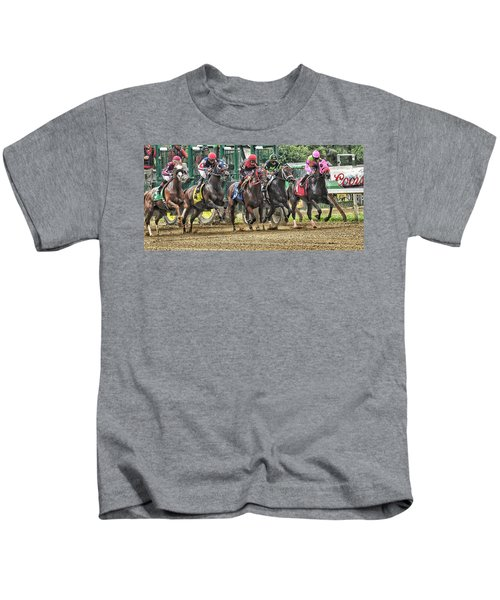 Leaping Forward Kids T-Shirt