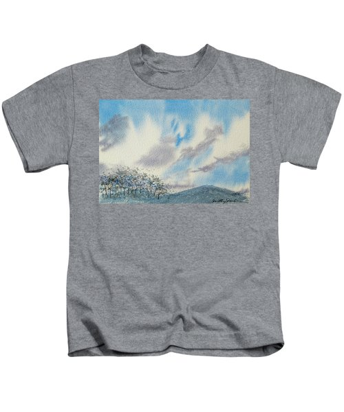 The Blue Hills Of Summer Kids T-Shirt