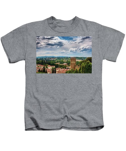 Let Me Travel To Another Era Kids T-Shirt