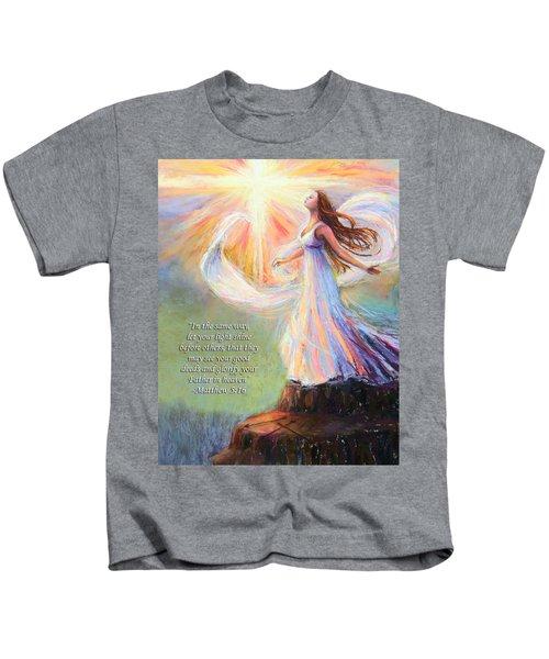 Let Your Light Shine Kids T-Shirt
