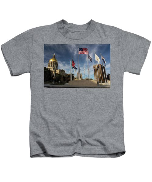 Liberty Plaza Kids T-Shirt