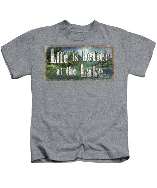 Life Is Better Sign Kids T-Shirt