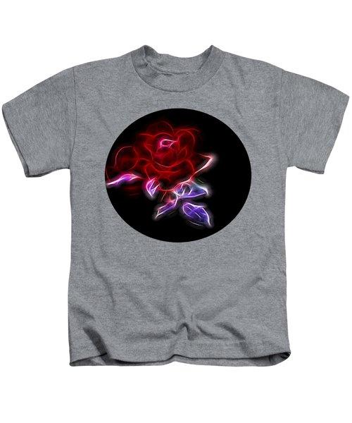 Light Play Rose Kids T-Shirt