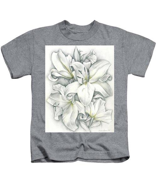 Lilies Pencil Kids T-Shirt