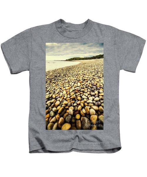 Lillico Beach Tasmania Kids T-Shirt
