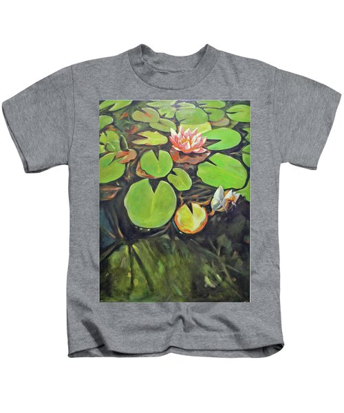 Lily In The Water Kids T-Shirt