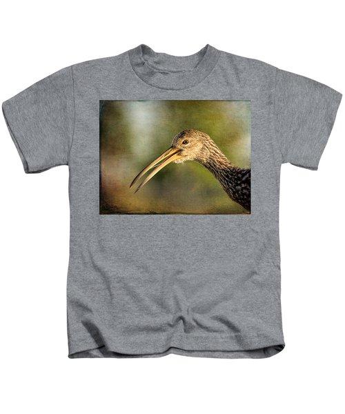 Limpkin 1 Kids T-Shirt