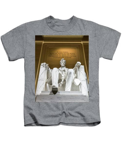 Lincoln Memorial 2 Kids T-Shirt