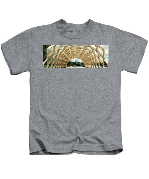 Lincoln Park Zoo Nature Boardwalk Panorama Kids T-Shirt