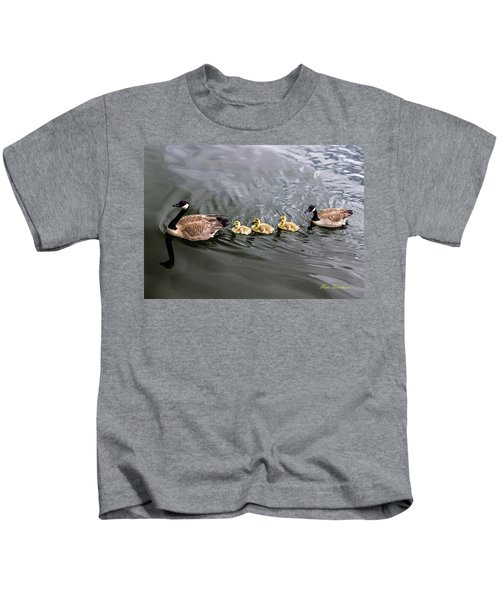 Line Astern Signed Kids T-Shirt