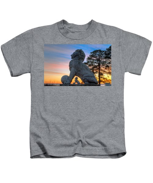 Lions Bridge At Sunset Kids T-Shirt