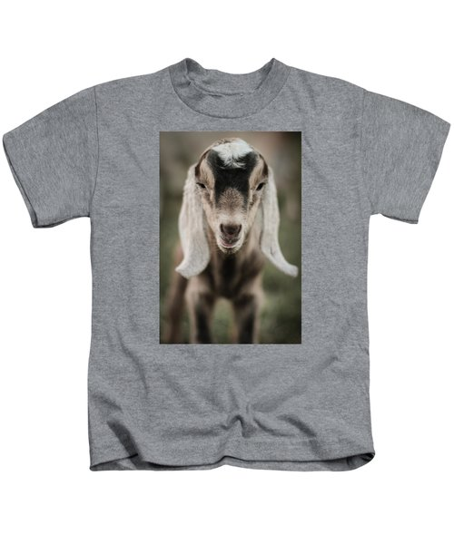 Little Goat In Color Kids T-Shirt