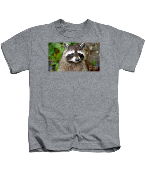 Little Racoon - Procyon Lotor Kids T-Shirt