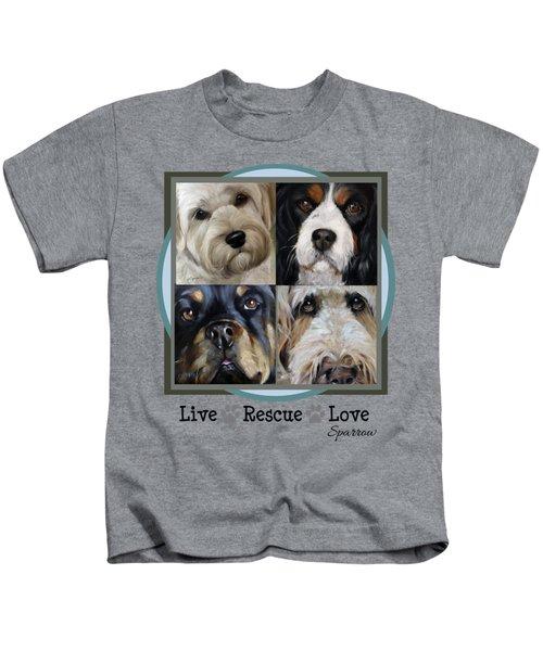 Live Rescue Love Kids T-Shirt