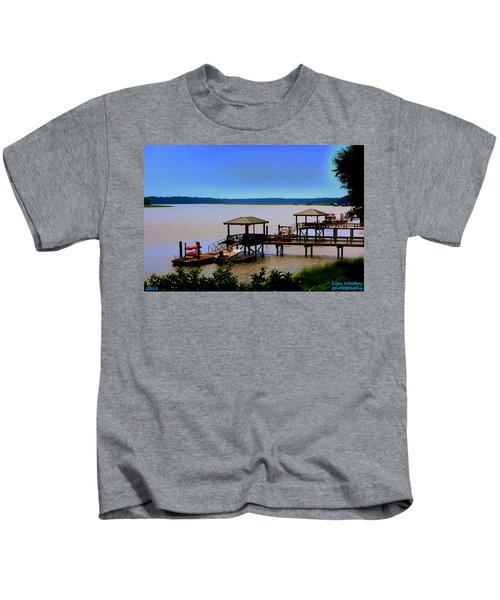 Living In The Lowcountry Kids T-Shirt
