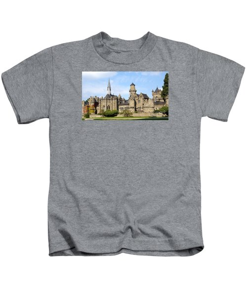 Loewenburg - Lionscastle Near Kassel, Germany Kids T-Shirt